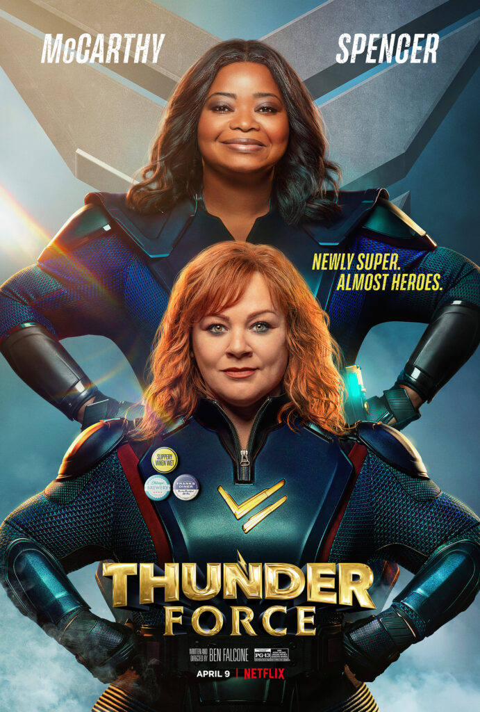 Netflix Thunder Force Poster