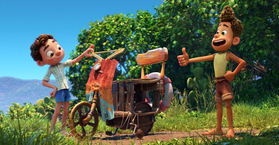 Pixar Luca and Alberto friendship