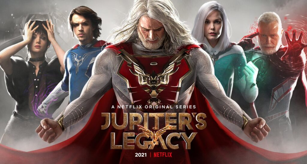 Jupiter's Legacy rated TV-MA