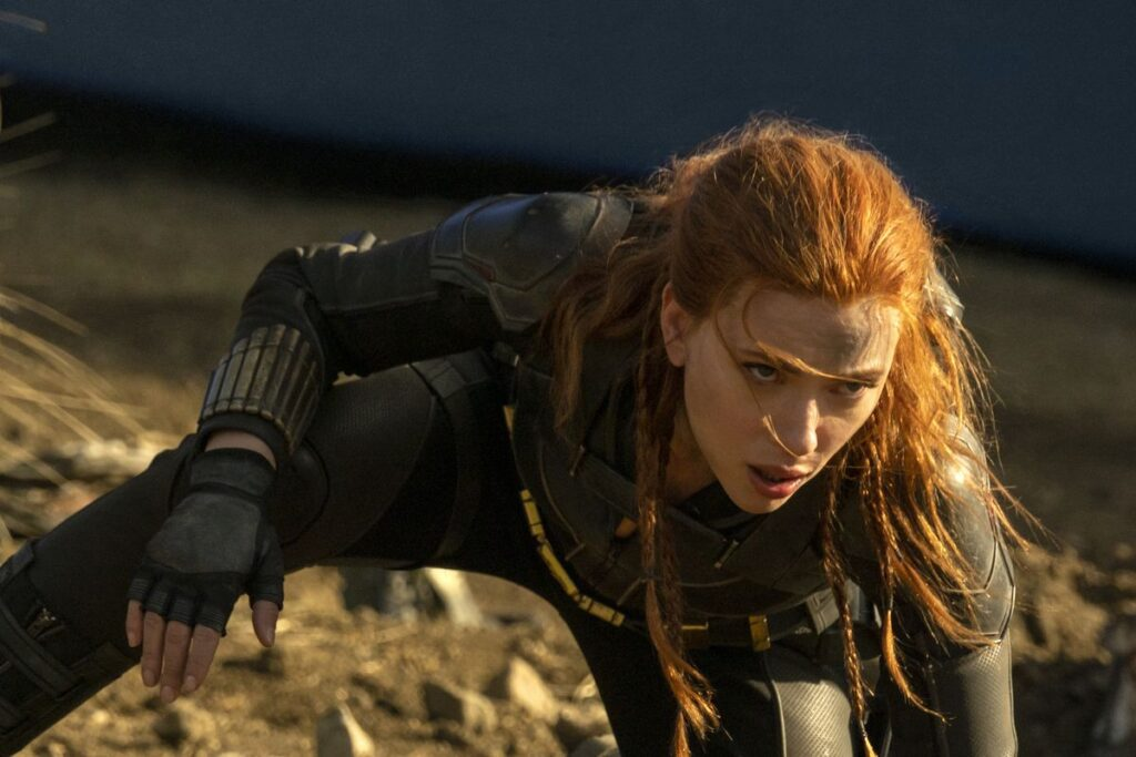 Black Widow rated Pg-13