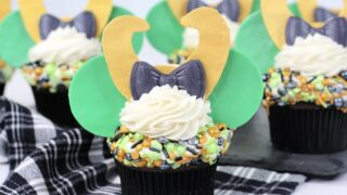 Marvel Loki Cupcakes