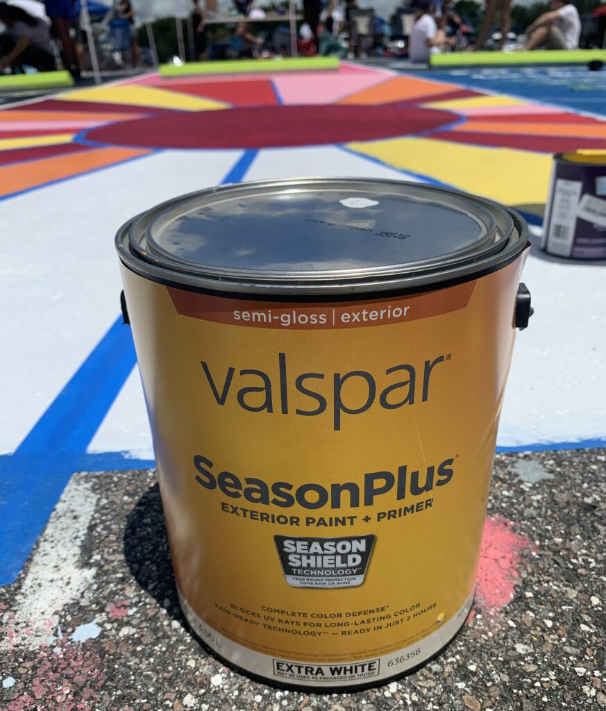 Paint Supplies for Painting Parking Spot