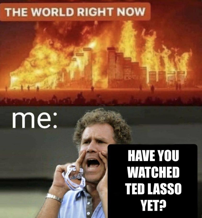 Funny Ted Lasso Memes